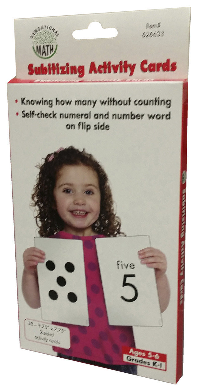 Sensational Math Subitizing Activity Cards