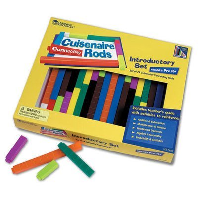 Cuisenaire Rods (set of 6)