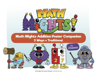 Math Mights Download Companion: Addition Strategies