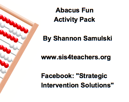 Abacus Fun Activity Pack (Addition/Subtraction) abfun