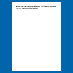 Sample Problem Page