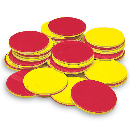Plastic 2-Color Counters (200)