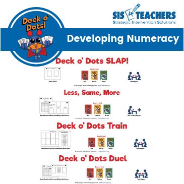 Deck o' Dots Game Bundle: Developing Numeracy DODGNum