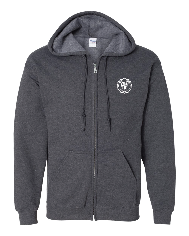 Heavy Blend Full-Zip Hooded Sweatshirt