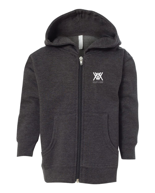 Rabbit Skins - Toddler Full-Zip Fleece Hooded Sweatshirt
