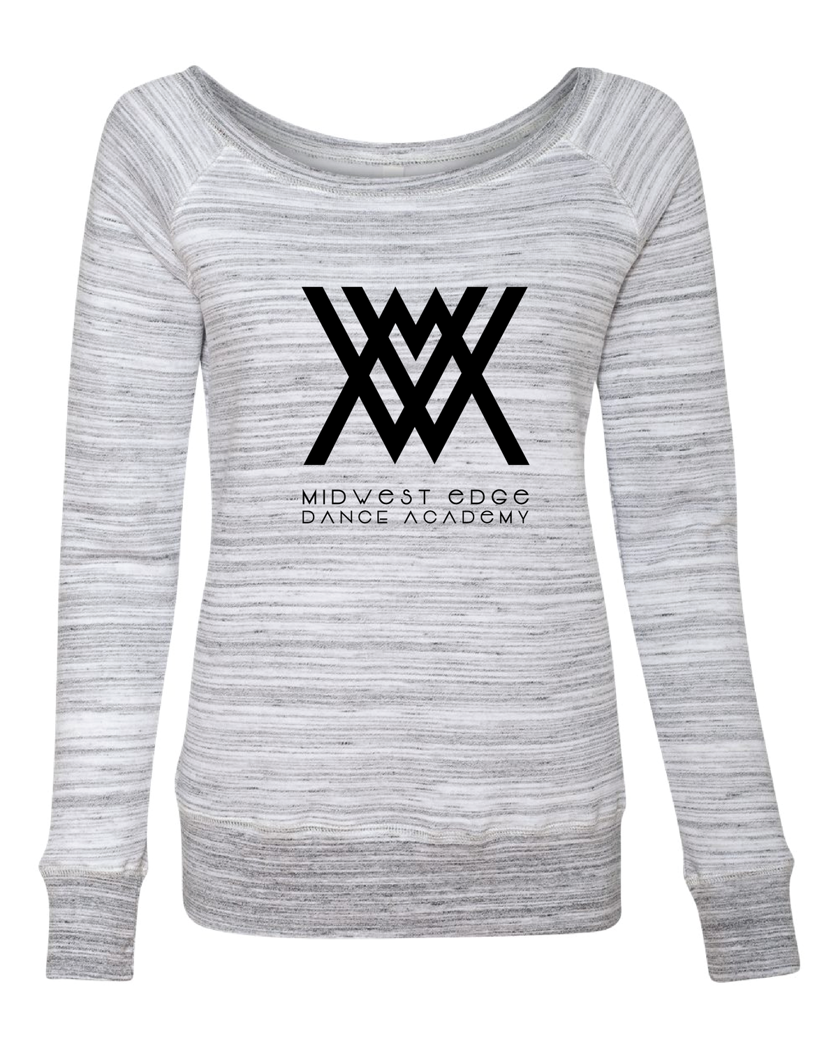 Bella + Canvas - Women's Sponge Fleece Wideneck Sweatshirt