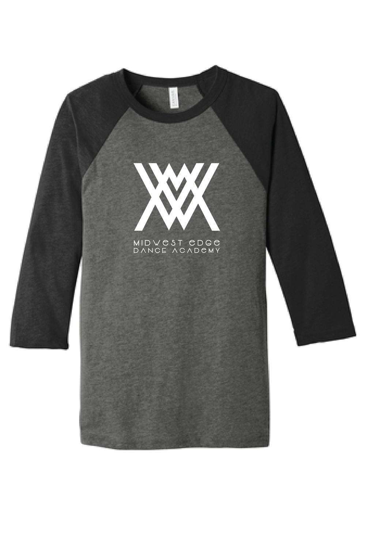 Bella + Canvas - Unisex Three-Quarter Sleeve Baseball T-Shirt