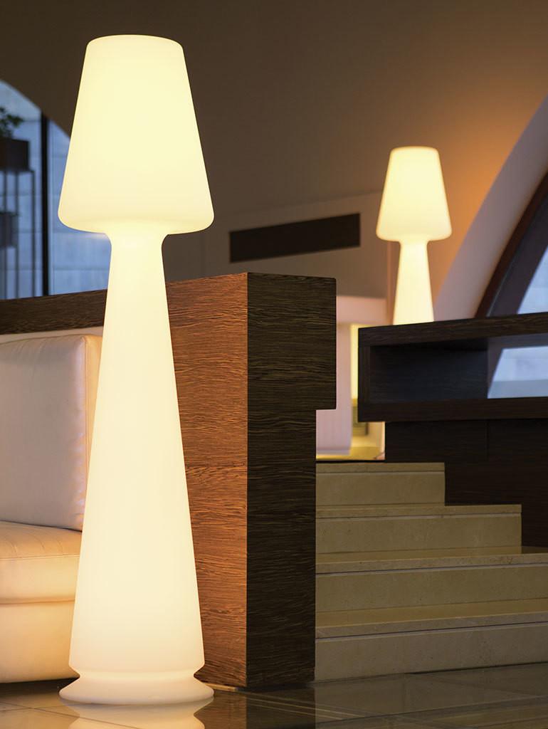 Lampada CHLOE LED RGB MULTICOLOR luminoso h 165 cm