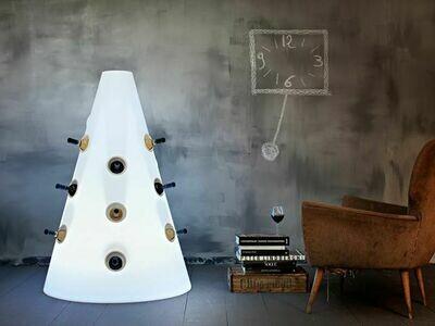 Portabottiglie luminoso FIZZ 90 x h 130 cm