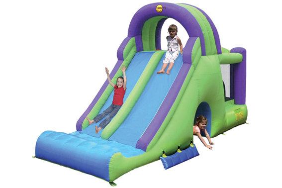 Castello gonfiabile per bambini SCIVOLO COMBO 600 cm