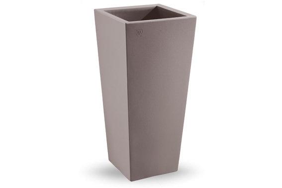 Quadrato Ontario liscio moderno  85, 100 cm in resina