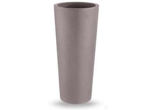 Tondo Zajsan liscio moderno h 70, 85, 100 cm in resina