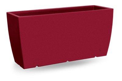 Cassetta Bolzano liscia moderna da 70, 80, 100 cm in resina