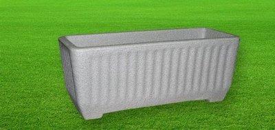 Cassetta Balaton color pietra cemento da 58, 78, 98 cm in resina