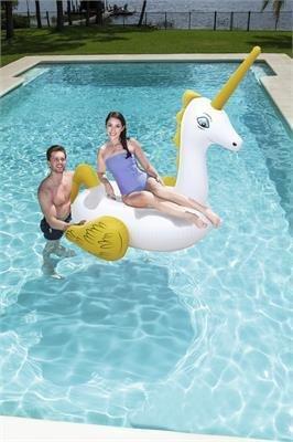 Cavalcabile gonfiabile Unicorno Bestway 173 x 170 cm
