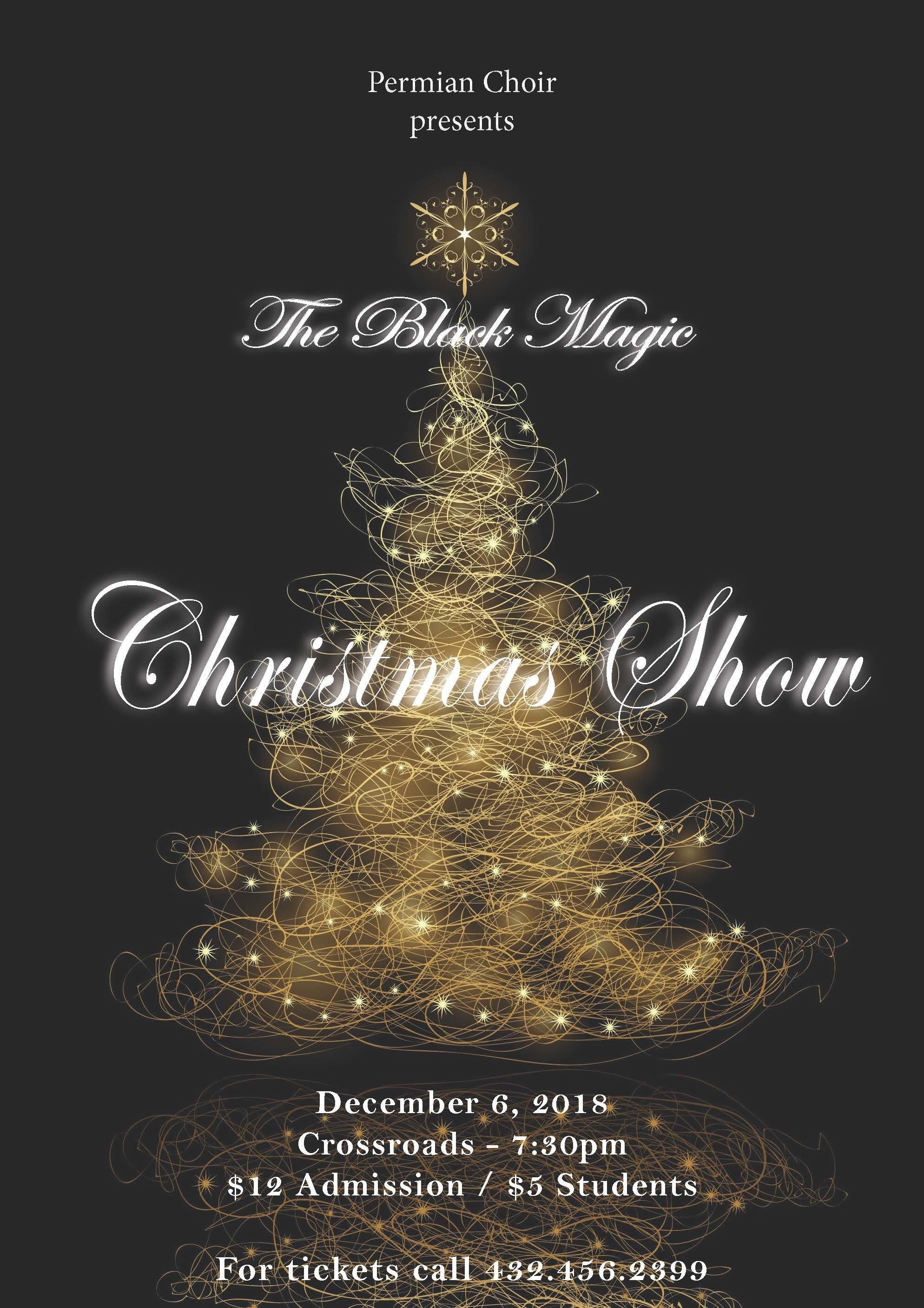 Black Magic Christmas Show - Student Ticket 00027