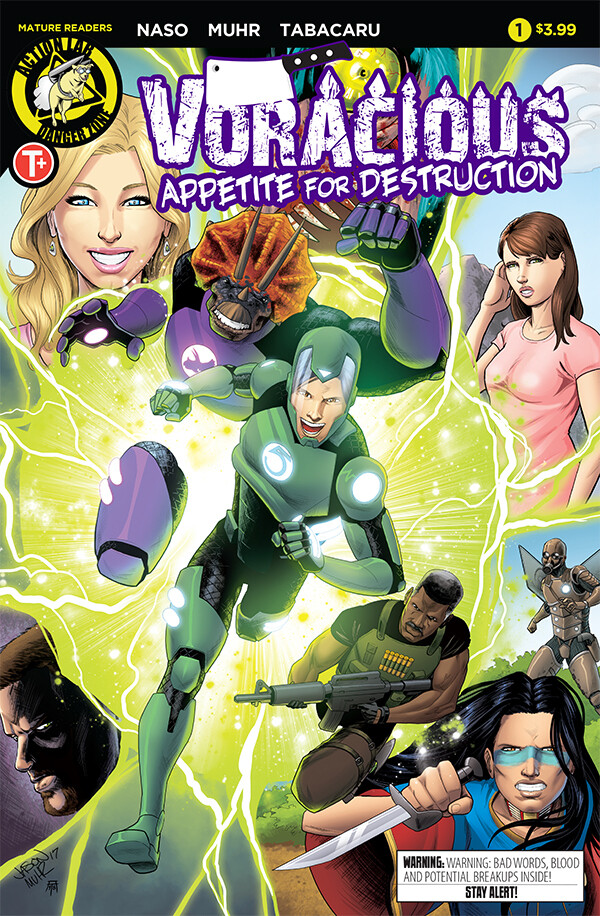 VORACIOUS: Appetite for Destruction #1 (Regular Cover)