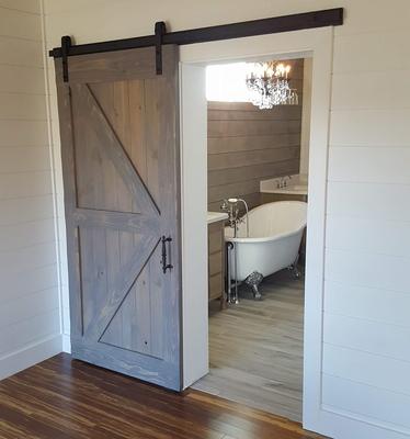 3u0027 X 7u0027 Aged Pine Barn Door