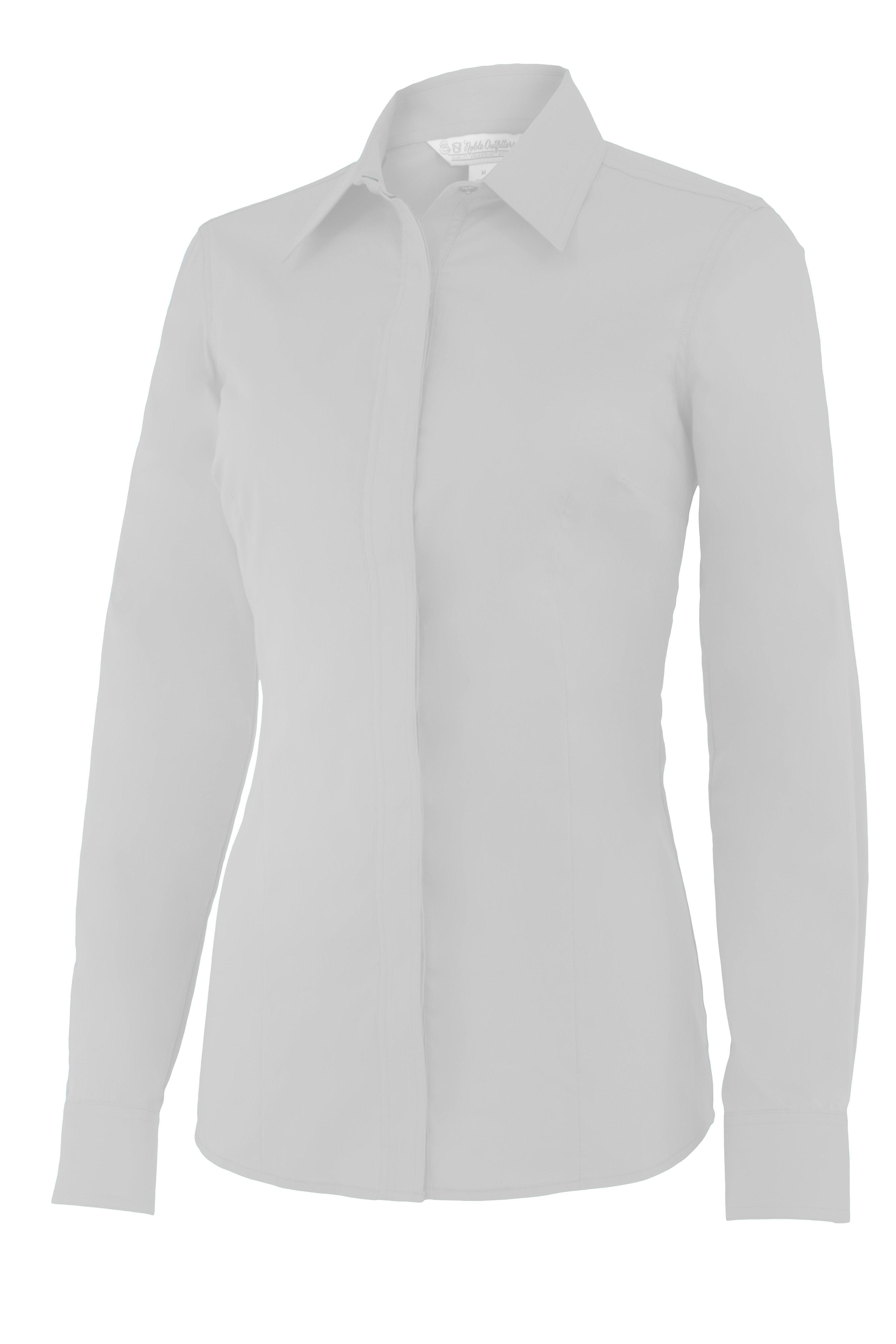 Noble Perfect Fit Show Shirt Large White ZPHEXS24D41EM