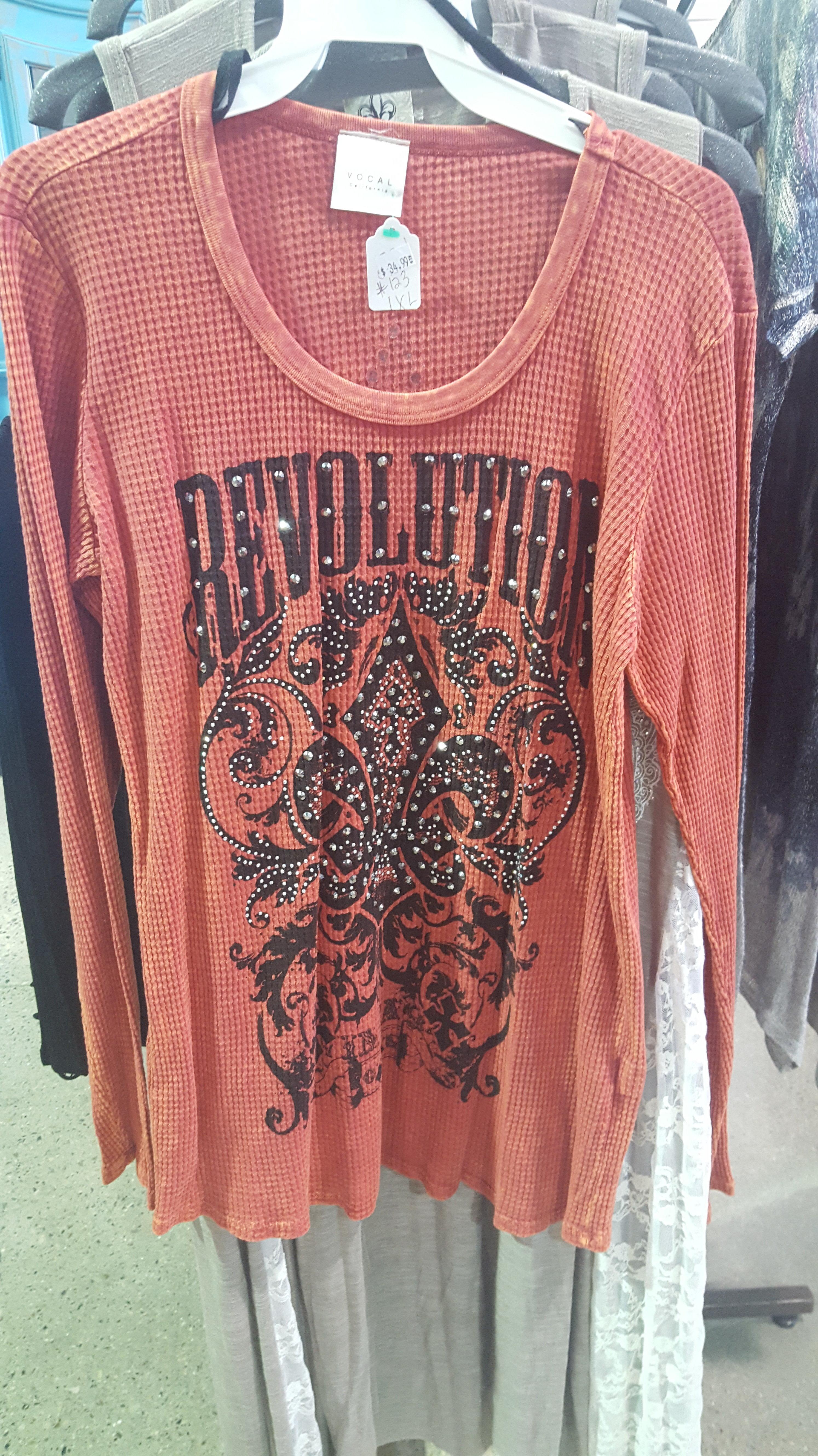 Vocal Orange Revolution Shirt 7WQ6JPVR678CJ