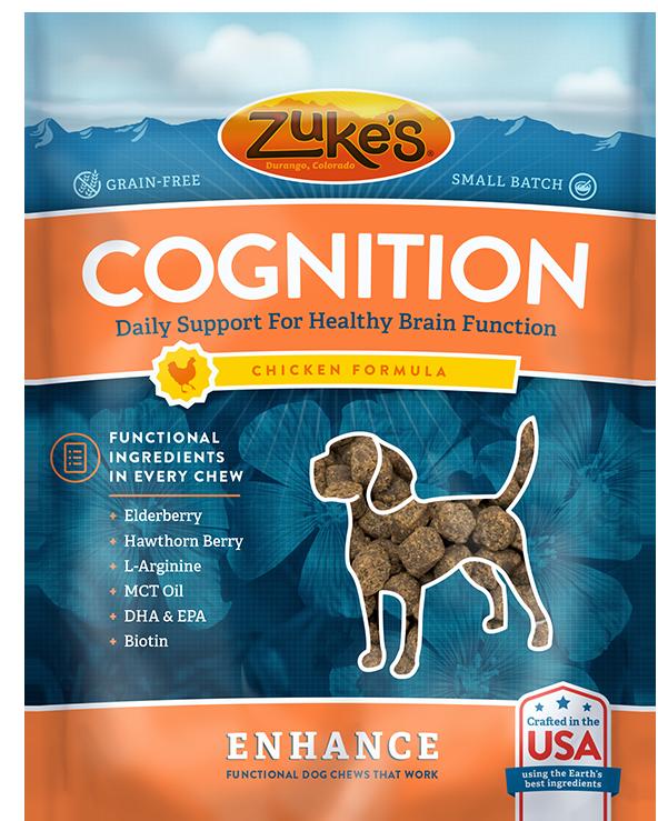 Zuke's Chicken Enhance Cognition Treats KBB1T7WZ0EK36