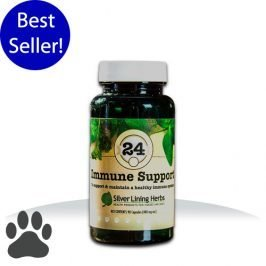 Silver Lining #24 Immune Support K-9 Capsules WG8ZBFJT450T2