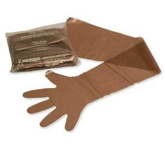 Glove Maxi Sleeve Brown Sold As Each 17982996