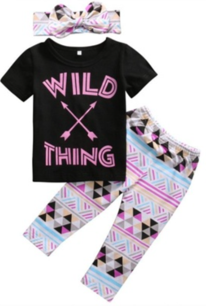 Wild Thing Outfit 3pc 7KMCHZKBXMPXJ