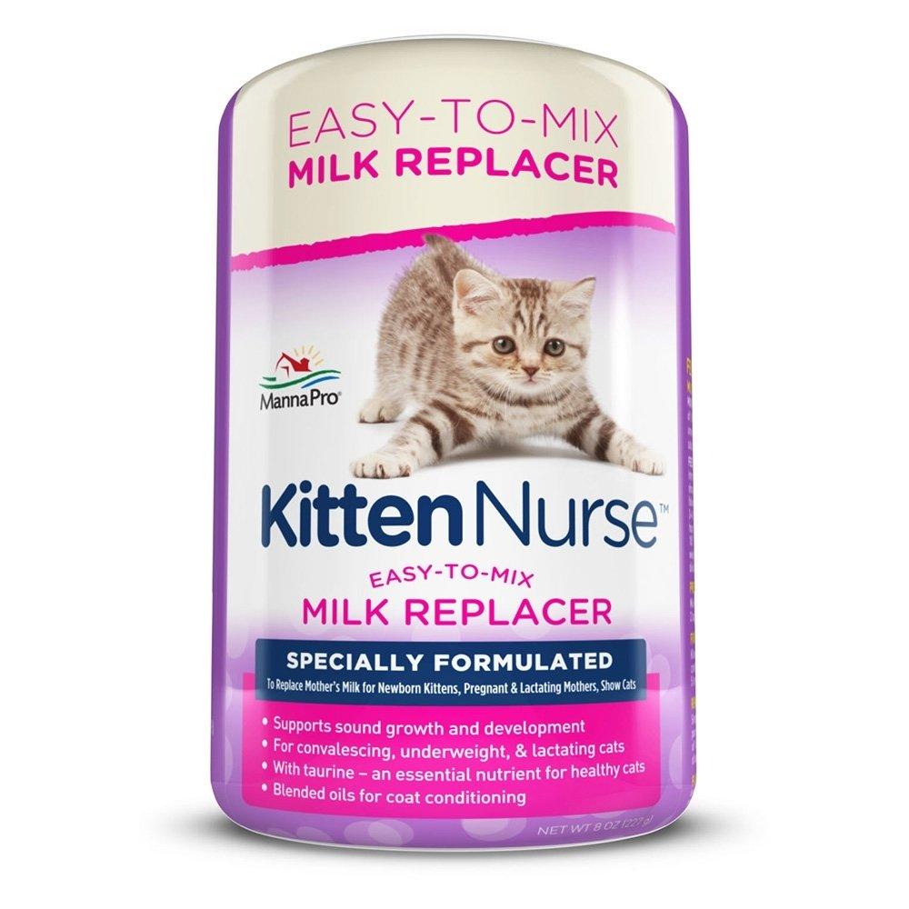 Manna Pro Kitten Nurse Milk Replacer 8oz 110846