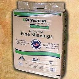 Neiman Pine Bedding Shavings 2.6 Compressed Cubic Feet Bedding