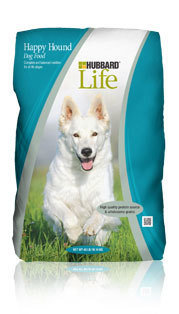 Hubbard Life Happy Hound Dog Food 40lb 33878