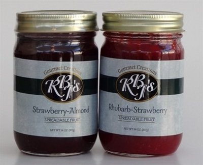 RBJs Strawberry-Almond Fruit Spread 617935363621