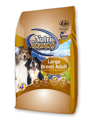 Nutri Source Lamb And Rice Large Breed Adult 33lb 009-562-03