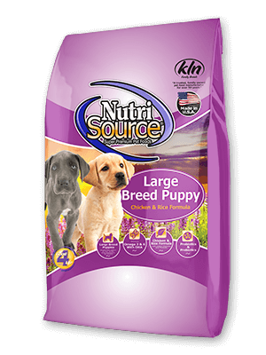 Nutri Source Puppy Large Breed 30lb 009-565-03