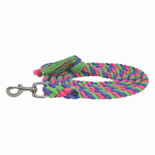 Two Tone Cotton Lead Rope 14808PRBK