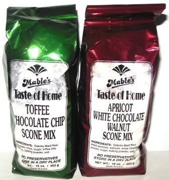 Mables Apricot White Chocolate Walnut Scone Mix 211516426394