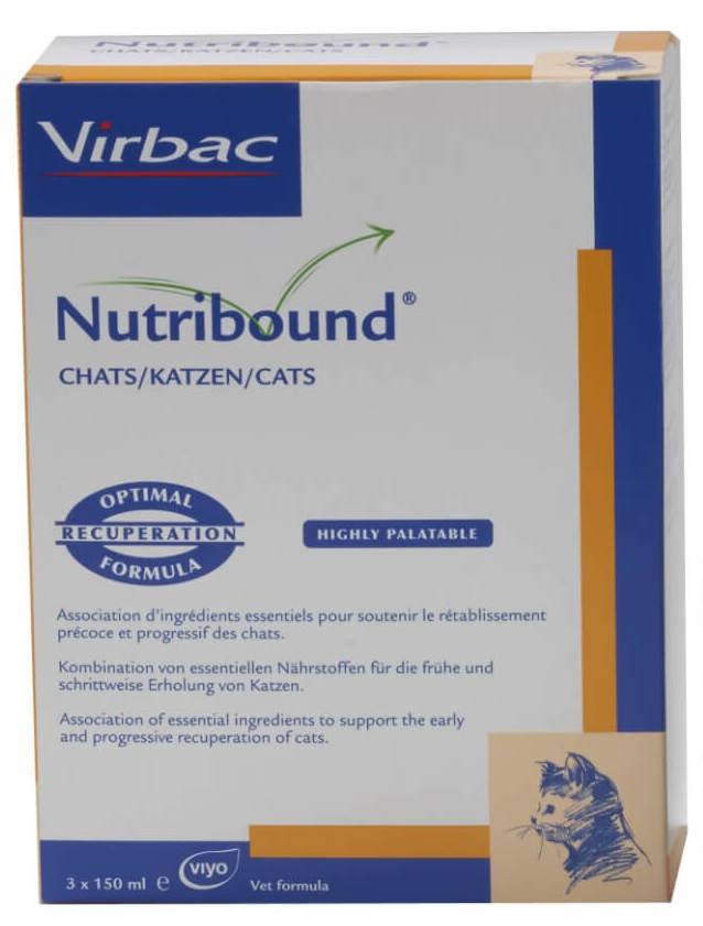 Virbac Nutribound для кошек 54063
