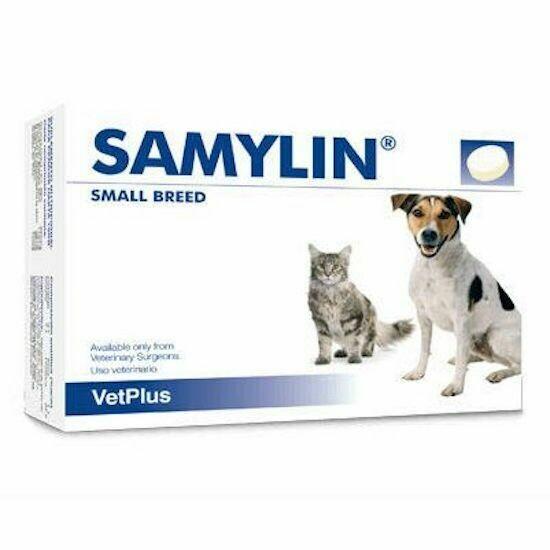 VetPlus Samylin - Самилин для кошек и собак, таблетки