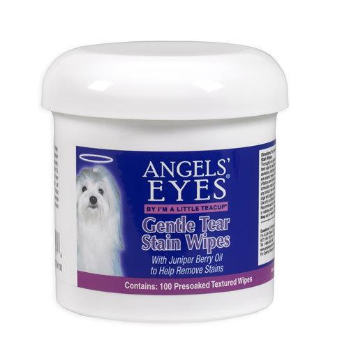 Angels' Eyes Gentle Tear Stain Wipes / Влажные диски 100 шт 0040 D5.2