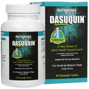 Dasuquin (Дазикин) для мелких и средних пород собак, уп. 84 шт 0258 E2.12