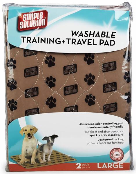 Simple Solution Washable Training & Travel Pad. Впитывающие пеленки многоразового использования, уп. 2 шт 0320 E1