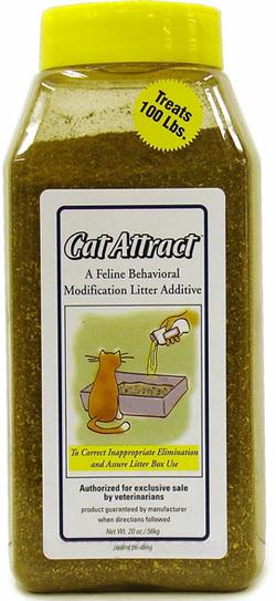 Cat Attract 560 г приучение к лотку 0114