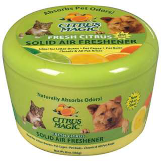 Citrus Magic Pet Odor Absorbing Solid Air Freshener освежитель 566 г 0122