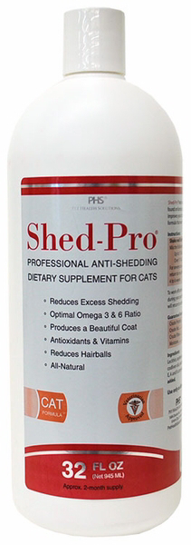 Shed-Pro for Cats /  Шед-Про для кошек 945 мл 0338 D1.3