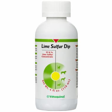 Vetoquinol Лайм Сульфур (Lime Sulfur Dip) 118 мл 0357 D1.4
