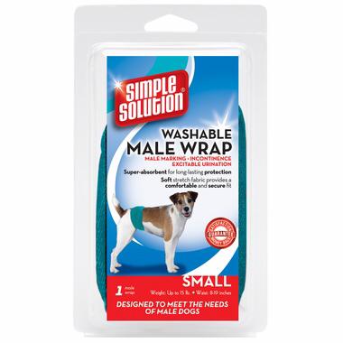 Simple Solution Washable Male Wrap Гигиенический пояс для кобелей многоразового использования. 0373 F3