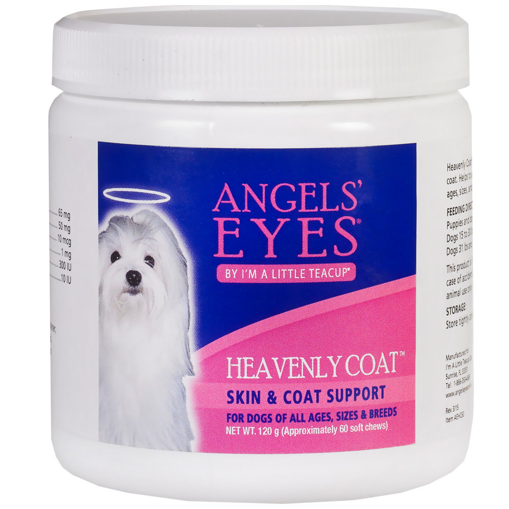 Angels' Eyes Heavenly Coat витамины для собак, уп. 60 шт