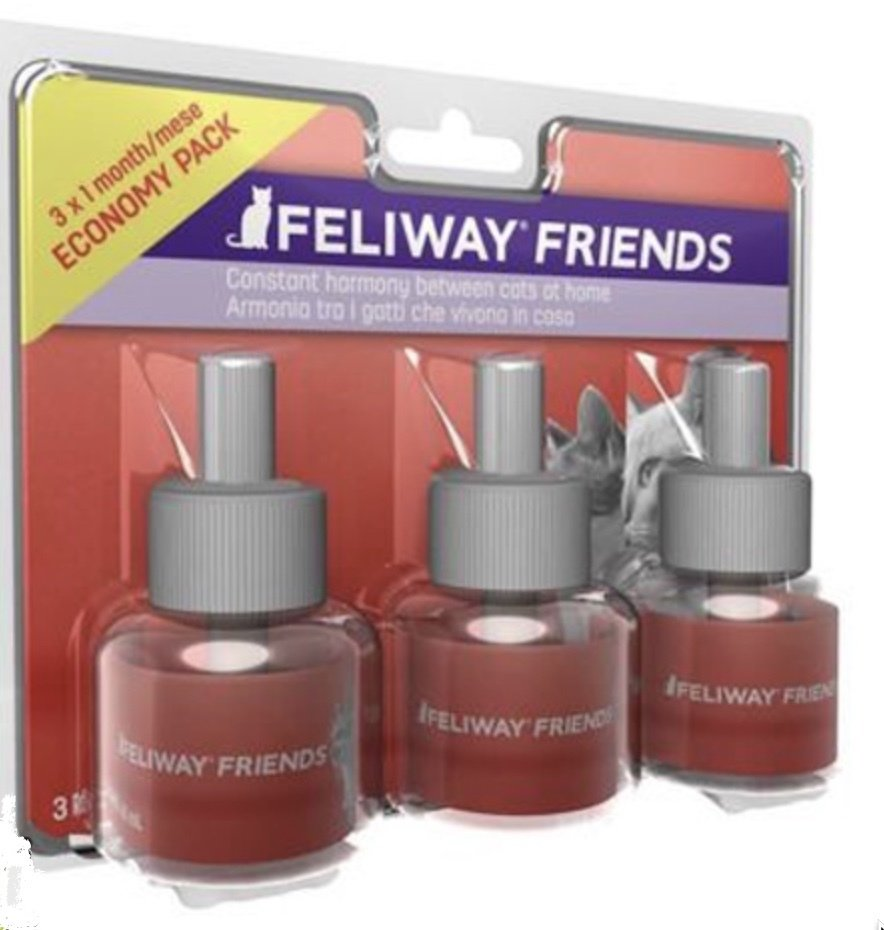 Feliway Friends Феливей Френдс сменный флакон, уп. 3 шт 54054 A1