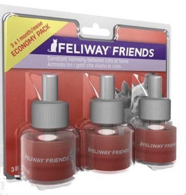 Feliway Friends Феливей Френдс сменный флакон, уп. 3 шт