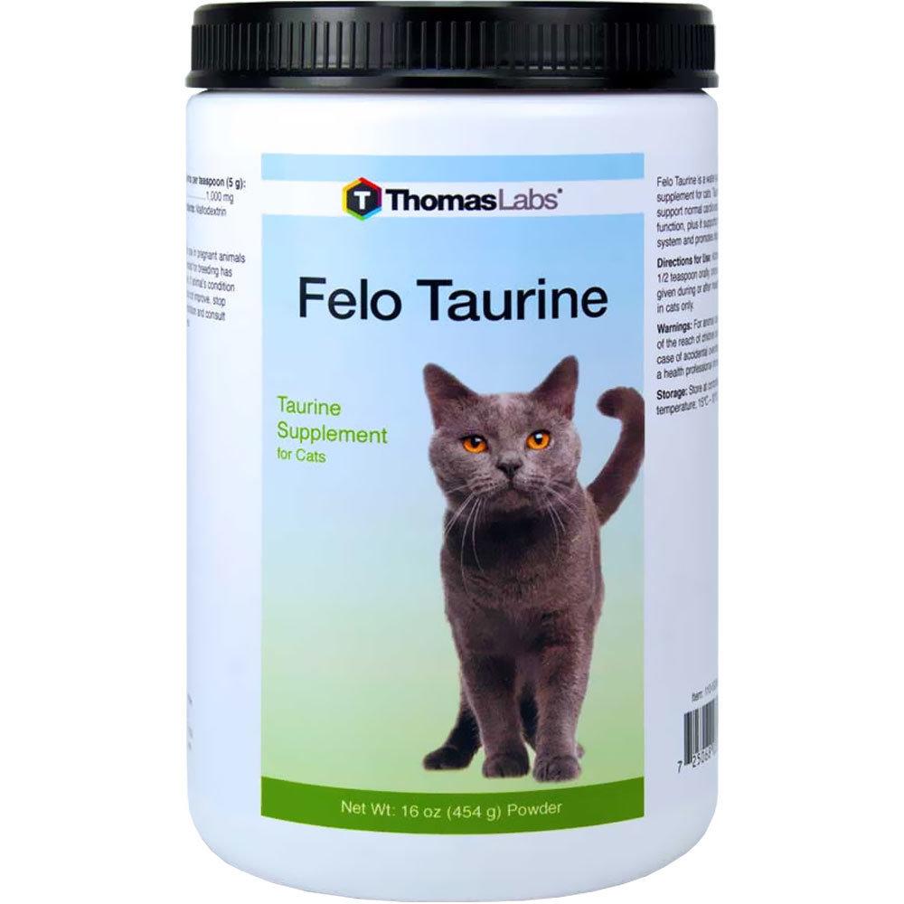 Fel-O-Taurine - Таурин для кошек, порошок, уп. 454 г